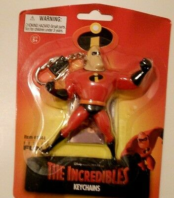 Disney Mr. Incredible Keychain Incredibles NEW
