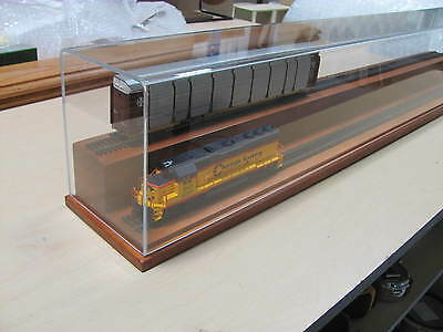 "HO 24"" Two Level Model Train Display Case"