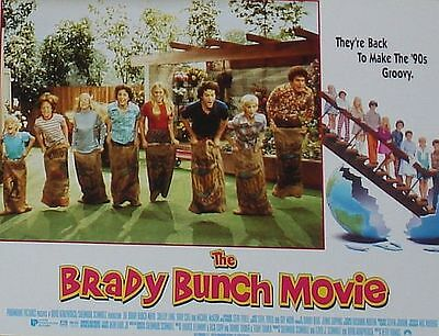 THE BRADY BUNCH MOVIE - 11x14 US Lobby Cards Set - Shelley Long, Gary Cole
