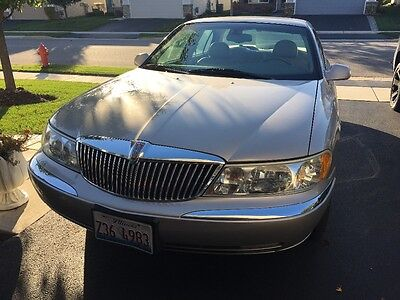 2002 Lincoln Continental Tan Leather Lincoln Continental.... Mint Condition!!!!