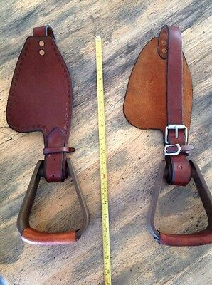 Trevor Miners Tiny Tot Leather Fenders For Half Breed Western Stock Saddles