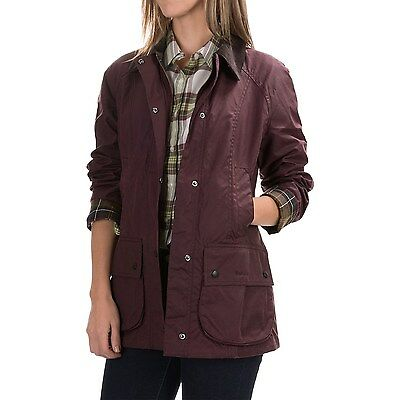 BARBOUR Ladies' Classic Beadnell Sylkoil Waxed Cotton Jacket