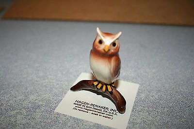 Hagen Renaker,Owl,Horned,Nice,Figurine,Miniature,Gift,New,2017,Free Shipping!!!