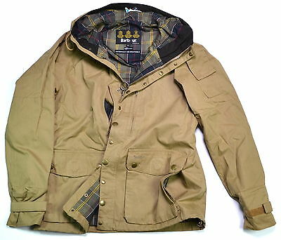 BARBOUR Helmswater Waterproof Cotton Jacket