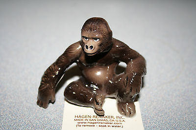 Hagen Renaker,Gorilla,Large,3015,Figurine,New,2017,Miniature,Gift,Free Shipping!