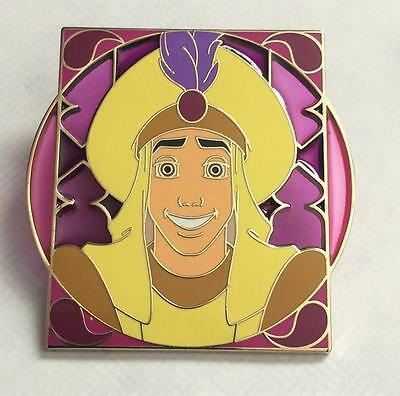 Disney Aladdin Stained Glass Royalty Reveal Conceal Mystery Pin
