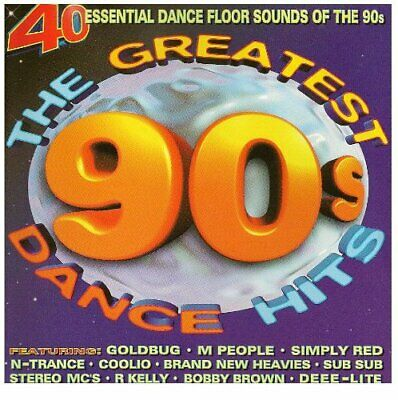 Various - Greatest 90s Dance Hits - Various CD 2YVG The Cheap Fast Free Post The