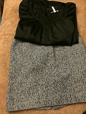 Maternity Shirt and Skirt size S/M