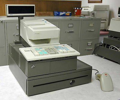 IBM 4694 POS Cash Register & SureMark 4610 Receipt Printer