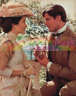 CHRISTOPHER REEVES JANE SEYMOUR SOMEWHERE IN TIME COLOR PHOTO 8x10