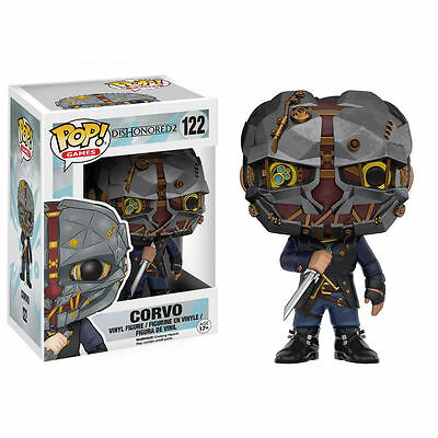 DISHONORED 2 FUNKO POP Vinyl Figurine figure CORVO 9 cm