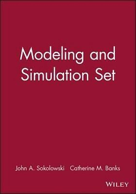Modeling and Simulation by John A. Sokolowski Hardcover Book (English)