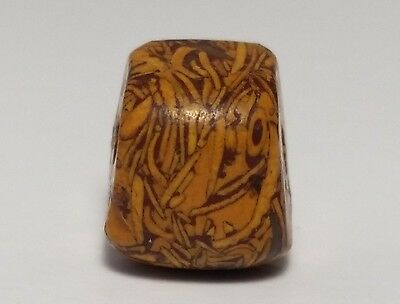 Ancient Rare Fossil Stone Bead