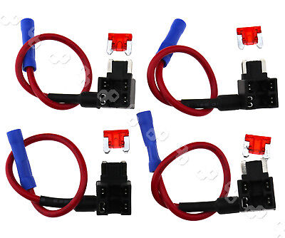 4 x Add A Circuit Micro APS ATT Low Profile Blade Style Fuse Holder Tap