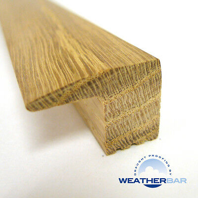 Solid Wood End Profile Flooring Threshold, Profile, Door Bar, Lacquered or Raw