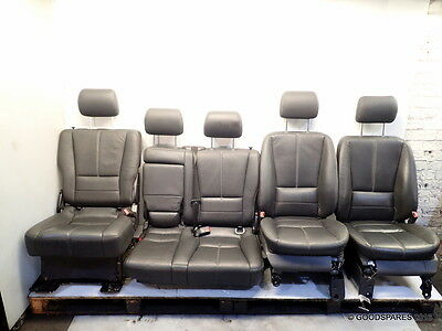 Leather Seats With White Stiching-Inspiration-(Ref.566)-Mercedes ML 270 CDI w163
