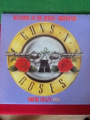 "Guns 'n' Roses Welcome To The Jungle 12"" Vinyl"