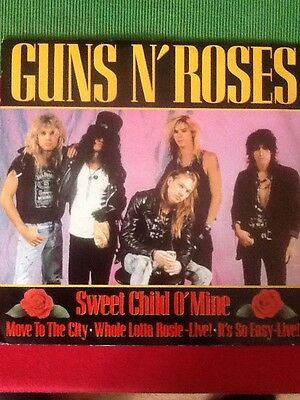"Guns 'n' Roses Sweet Child O' Mine 12"" Vinyl"