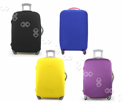 """18-30"""" Luggage Protector Protection Elastic Suitcase Cover Anti Scratch"""