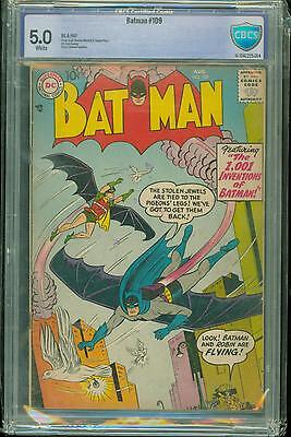 Batman #109 [1957] Certified[5.0] Classic Cover
