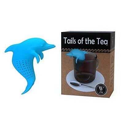 W Tails of the Tea Dolphin Silicone Tea Infuser