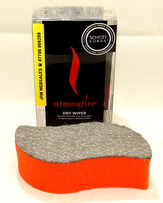 Stove Glass Cleaner; Dry Wiper - Atmosfire - Schott Robax - No Chemicals