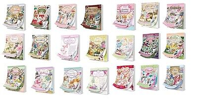Hunkydory THE LITTLE BOOK OF 144 A6 Blätter Alle Designs Serviettentechnik