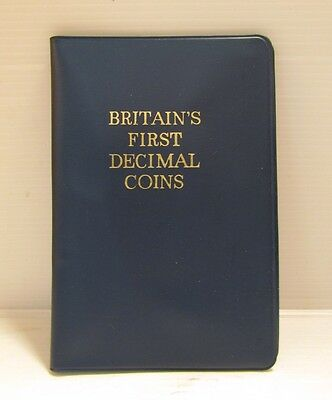 Vintage Britains ���� First Decimal Coin Set / Complete And In Tact ����