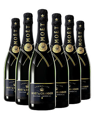 Moët & Chandon Nectar Impérial Champagne 6 PACK