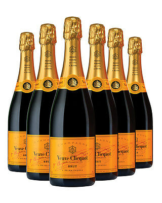 Veuve Clicquot Yellow Label NV 750ml 6 pack