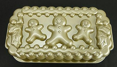 Nordic Ware Gingerbread Man Family Loaf Pan Made in U.S.A.