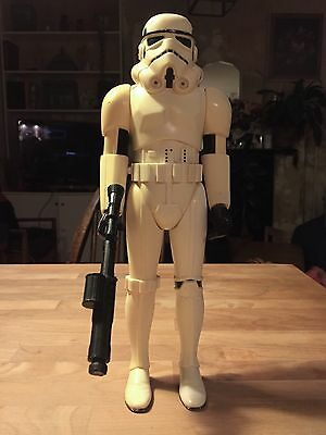 "Star Wars Vintage Stormtrooper Kenner Large 12"" 1978 with Weapon"