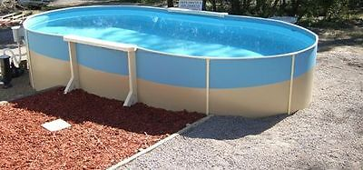 ABOVE GROUND SWIMMING POOL PACKAGE 6.2mx3.6mx1.32m  AUST MADE