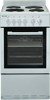 NEW Euromaid 50cm Electric Upright Cooker Stove 63 Litres EW50