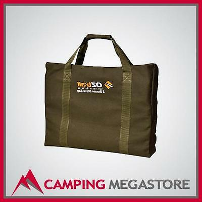 Oztrail 2 Burner Heavy Duty Canvas Gas Camping Stove Bag