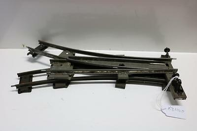 HORNBY   O GAUGE  2 FT RAD RIGHT AND LEFT POINTS  k31160