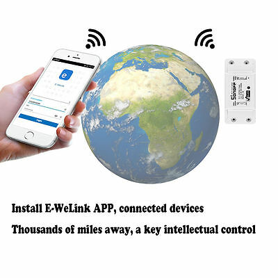 Wireless Smart Switch Module ABS Shell Socket for Home Sonoff - ITEAD WiFi
