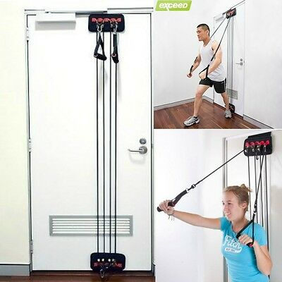 Exercise Fitness Door Gym Home Resistance Strength Training equipment Muscl Tone