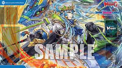 Cardfight Vanguard Wailing Thavas Promotional Playmat - Divine Dragon Caper