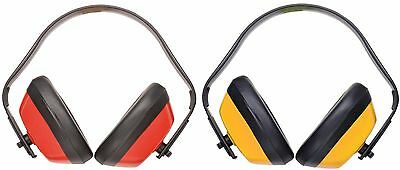 Portwest PW40 red or yellow classic ear Defender protector