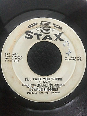 "Staple Singers - I'll Take You There 7"" Vinyl"