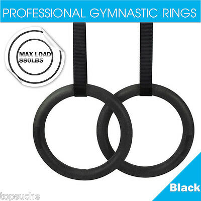 ABS Regolabile Gym Anelli Rings Fitness Formazione Palestra Professionale 400KG