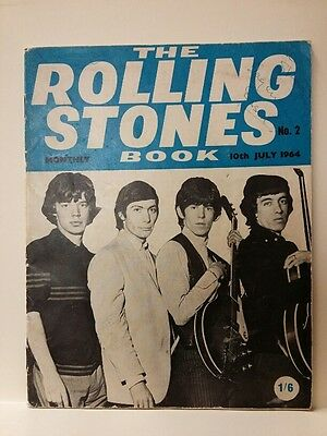 The Rolling Stones Book. No. 2, 10th July 1964 (signed by Brian Jones)
