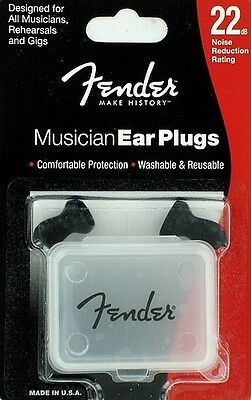 fender TAPPI PER ORECCHIE Ear Plugs 22dB Noise Reduction Rating 0990542000