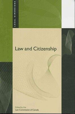 Law and Citizenship by Law Commission of Canada Paperback Book (English)