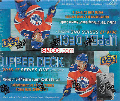 2016 17 2017 Upper Deck Hockey Series One Factory Sealed Retail Box of 24 Packs
