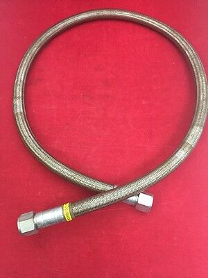 "Flexible Metal Hose Assembly 63"" Overall Two Straight Ends R0056515 (11-08)"