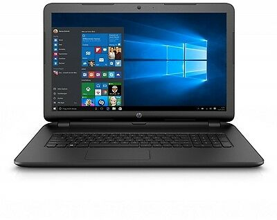 "HP 17-p100na 17.3"" Notebook AMD QuadCore A6-6310 2.4 GHz 8GB / 1TB Win 10 Black"