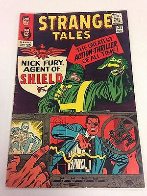 Strange Tales #135 1965 Nick Fury becomes Agent of S.H.I.E.L.D. origin/ 1st app.