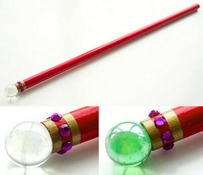 Handmade Alex Russo Style Magic Wand Wizards of Waverly Place Wooden Unofficial